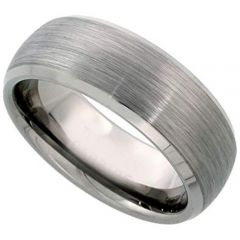 COI Tungsten Carbide Beveled Edges Ring - TG1357