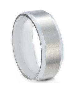 COI Tungsten Carbide Beveled Edges Ring - TG613