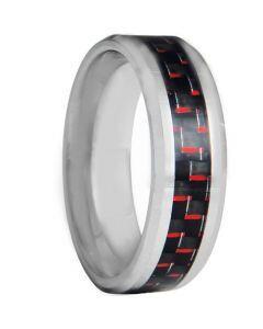COI Tungsten Carbide Ring With Carbon Fiber - TG3699