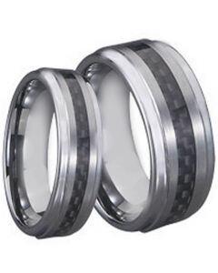 COI Titanium Carbon Fiber Step Edges Ring - JT2677A