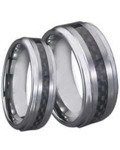 COI Tungsten Carbide Ring With Carbon Fiber - TG710