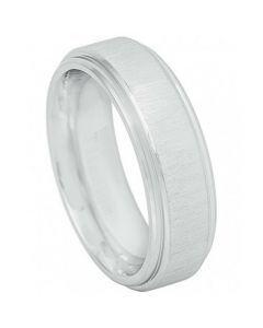 COI Tungsten Carbide Step Edges Ring - TG4609