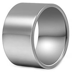 COI Tungsten Carbide Pipe Cut Flat Ring - TG229