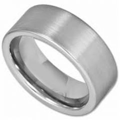 COI Tungsten Carbide Pipe Cut Flat Ring - TG2855