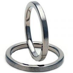 COI Tungsten Carbide Pipe Cut Flat Ring - TG2892