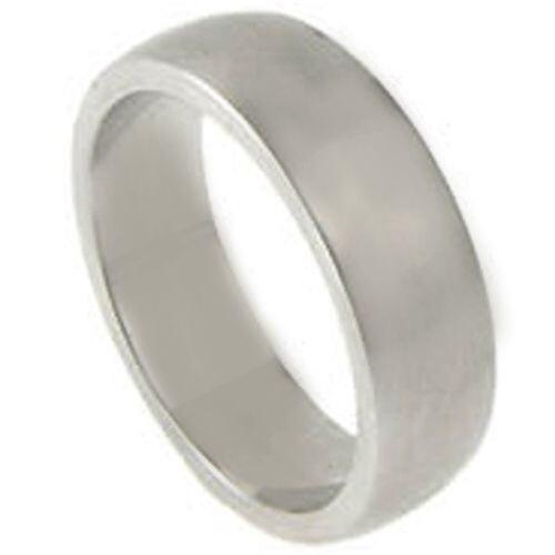 *COI Titanium Dome Court Wedding Band Ring - JT006