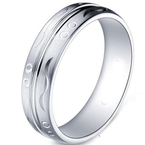 COI Tungsten Carbide Wedding Band Ring-TG5180