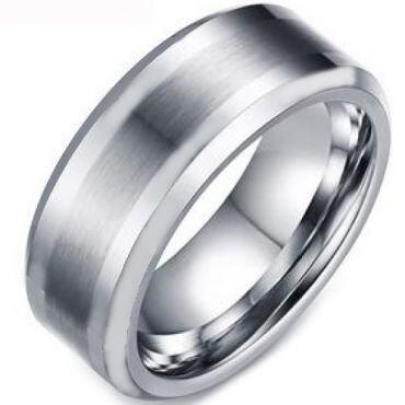 COI Titanium Beveled Edges Ring - 4034