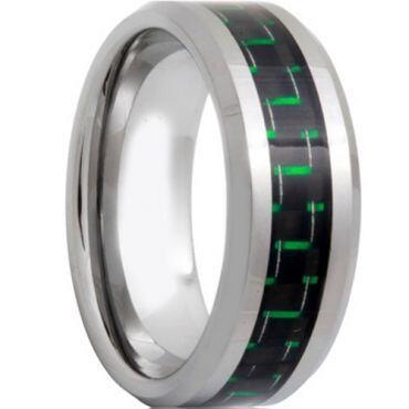 COI Titanium Carbon Fiber Beveled Edges Ring - 571