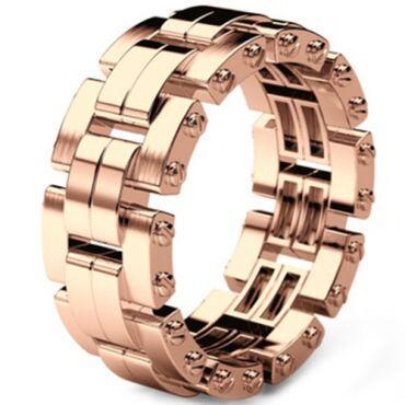 COI Rose Titanium Wedding Band Ring-5303