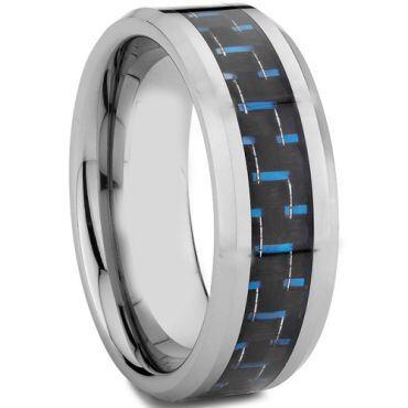 COI Titanium Carbon Fiber Beveled Edges Ring - 572