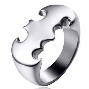 *COI Titanium Batman Die Cut Ring-6029