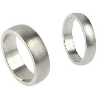 COI Titanium Dome Ring - JT006(Size US6/6.5/7/9.5/12.5)
