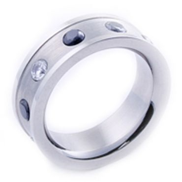 COI Cobalt Chrome Ring - JT1585(Size:US7)