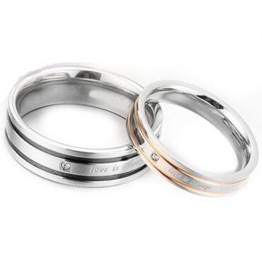 COI Titanium Love is Always Ring - JT1715(Size:#US6)