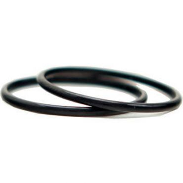 COI Black Titanium Dome Court Wedding Band Ring-JT2043
