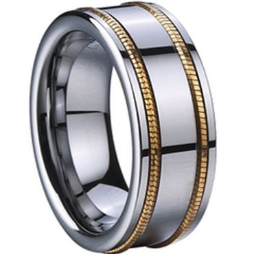 (Limited Offer!)COI Tungsten Carbide Ring-TG005A(US12)