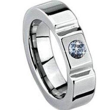 (Limited Offer!)COI Tungsten Carbide Ring-TG1003(US15.5)