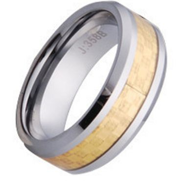 (Limited Offer!)COI Tungsten Carbide Ring-TG1059(US9.5)