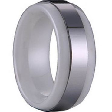 (Limited Offer!)COI Tungsten Carbide Ring-TG1142(#US6.5/9.5)