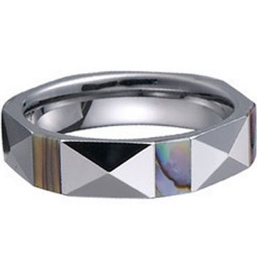 (Limited Offer!)COI Tungsten Carbide Ring-TG1223(US5/12.5)