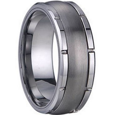 (Limited Offer!)COI Tungsten Carbide Ring-TG1252(US5)