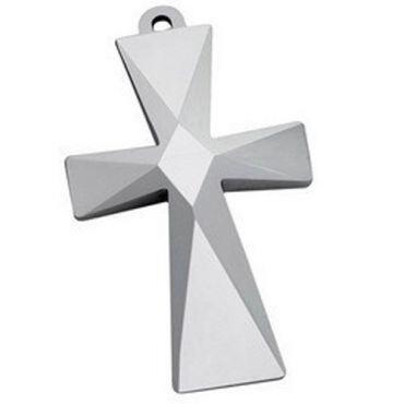 COI Tungsten Carbide Cross Pendant - TG1518