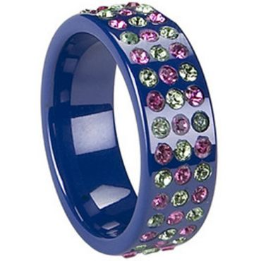 (Limited Offer!)COI Ceramic Eternity Ring - TG1762(US7)