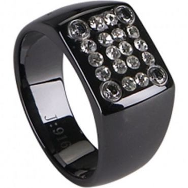 (Limited Offer!)COI Black Tungsten Carbide Ring-TG2264(US10)