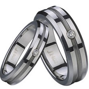 COI Cobalt Chrome Ring - CR2276(Size:US4)