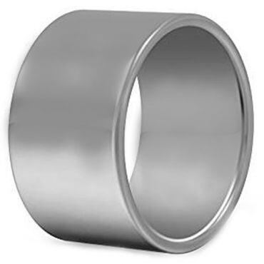 *COI Titanium Pipe Cut Flat Wedding Band Ring - JT2363