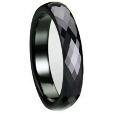 (Limited Offer!)COI Black Tungsten Carbide Ring-TG695(US10.5)